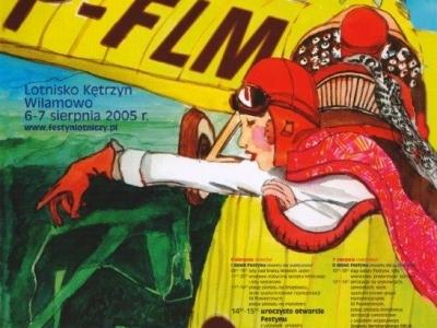 Plakaty Mazurskich Festynów Lotniczych 2005