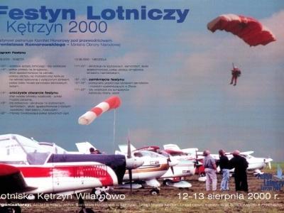Plakaty Mazurskich Festynów Lotniczych 2000