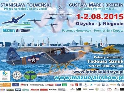 Mazury AirShow - Plakaty 2015