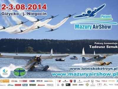 Mazury AirShow - Plakaty 2014