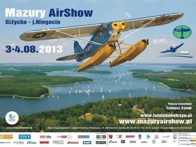 Mazury AirShow - Plakaty 2013