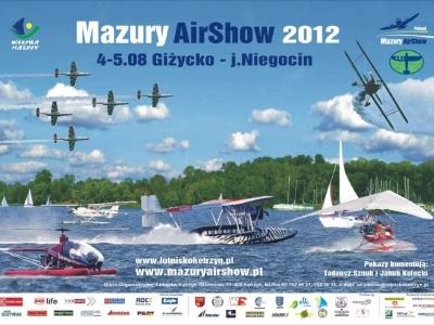 Mazury AirShow - Plakaty 2012