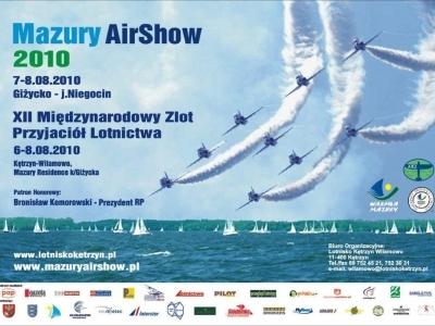 Mazury AirShow - Plakaty 2010