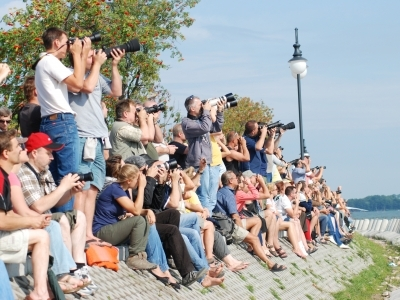 Mazury AirShow - Publiczność