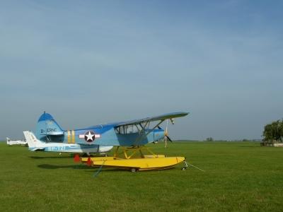 Mazury AirShow - Wodnosamoloty Piper PA 18