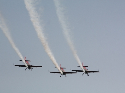 Mazury AirShow - Zespoły Akrobacyjne - Royal Joranian Falcons