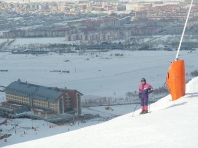 Chwile z nartami i na nartach - w  Alpach i Turcji