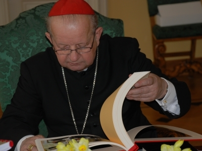 Wizyta u Kardynała Dziwisza