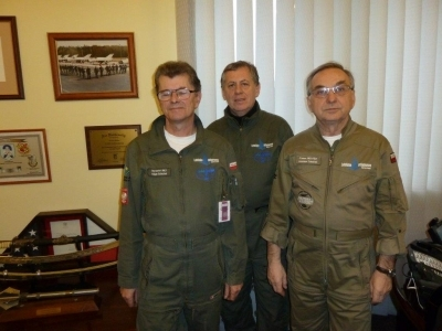 Z wizytą w Siłach Powietrznych RP