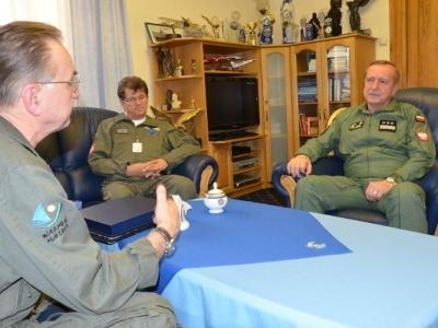 Wizyta i rozmowy z Dowódcą Generalnym RSZ
