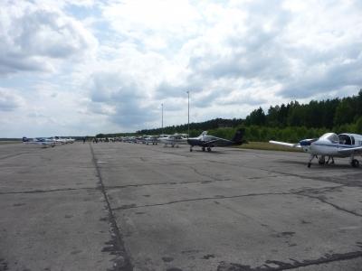 Na lotnisku w Szymanach - przed remontem