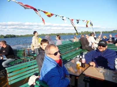 Statkiem po Wielkich Jeziorach Mazurskich