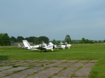 Z wizytą w Aeroklubie Elbląskim - rejs na Zalew Wiślany