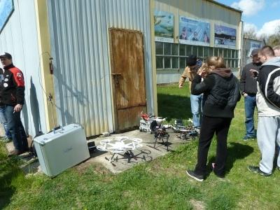 Ekspozycja Mazury Drone Show `15